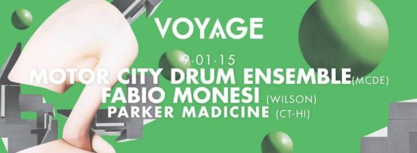 MOTOR CITY DRUM ENSEMBLE @ Tunnel Club (Milan) - Friday 9th January 2015