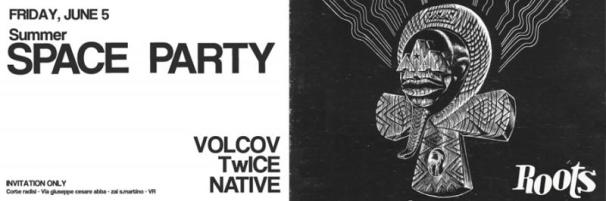 VOLCOV (Neroli - Archive Rec.) NATIVE (Flying Machines) TwICE (Black Aroma - Flying Machines)