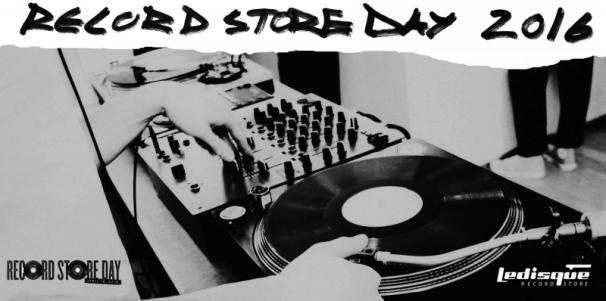 RECORD STORE DAY 2016 - PARTY IN STORE