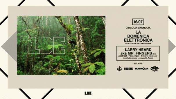 La Domenica Elettronica with Larry Heard [live]