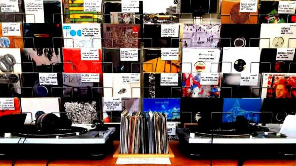 Clubsonico at Le Disque Record Store