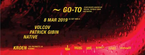 GO~TO • Volcov - Patrick Gibin - Native