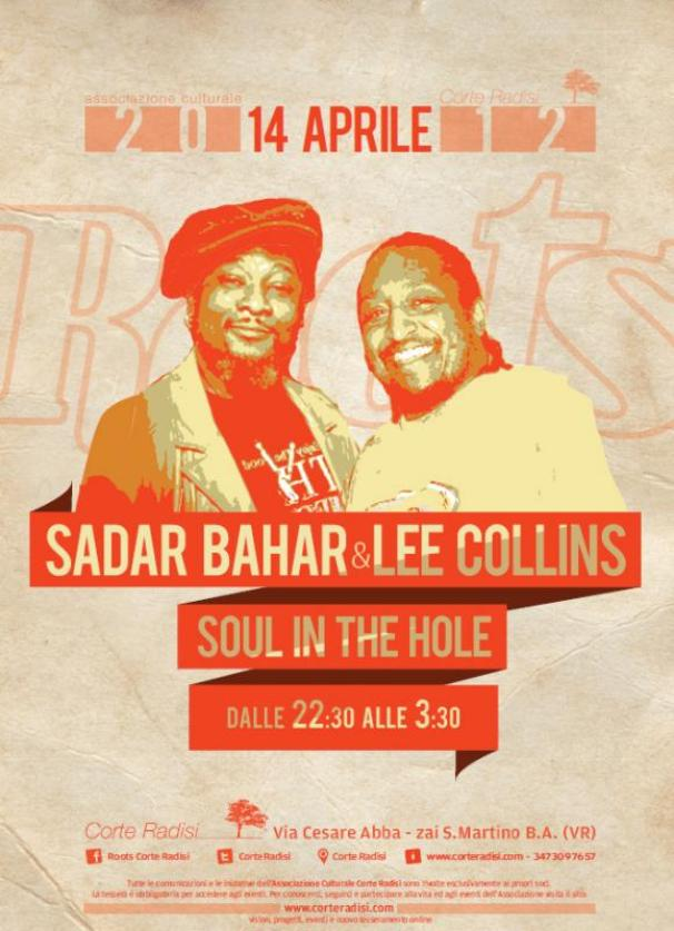 Sadar Bahar & Lee Collins @ Roots VR