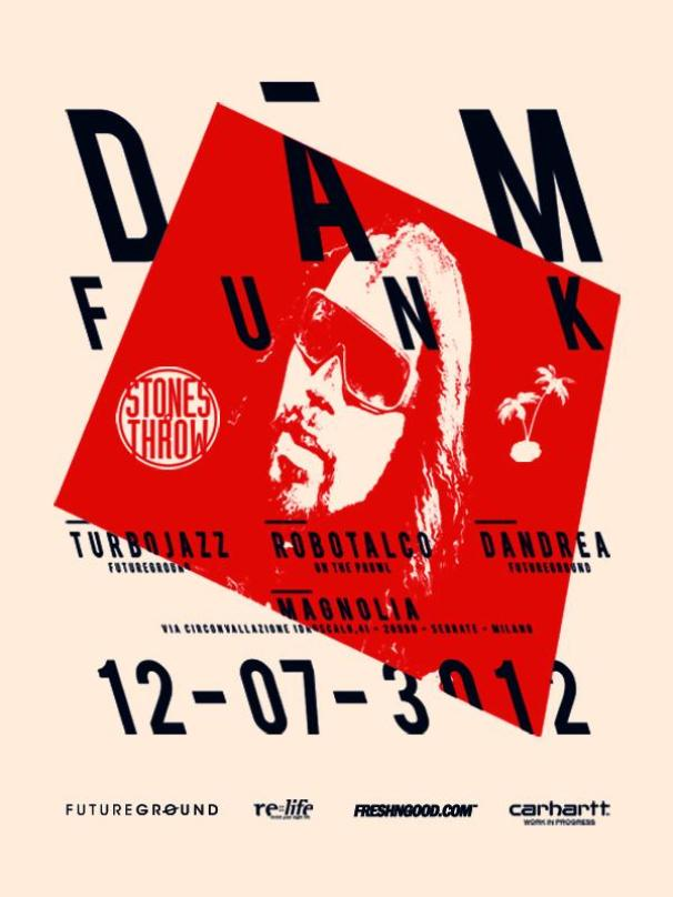 DAM FUNK - Milano 12th July of 3O12