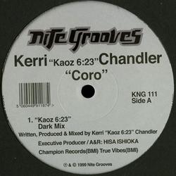 Kerri chandler coro vinyl for Classic house grooves dope jams nyc