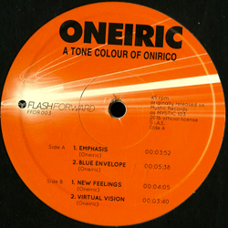 A Tone Colour Of Onirico