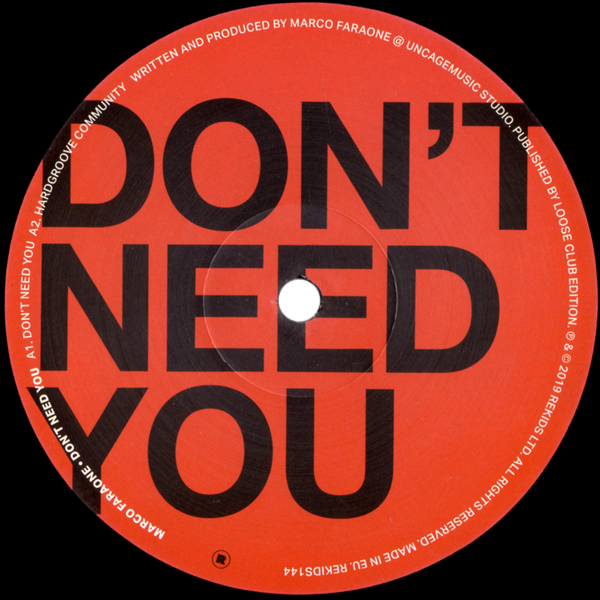 Don't Need You EP