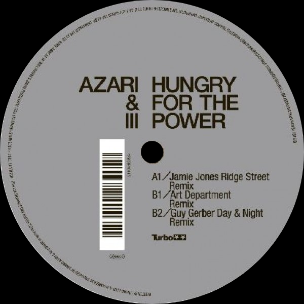 Hungry For The Power Remix 2020 Repress