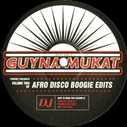 Afro Disco Boogie Edits Vol 2