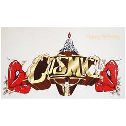 Cosmic Gt Cosmic Sticker