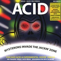 Acid Mysterons Invade The Jackin' Zone Record B